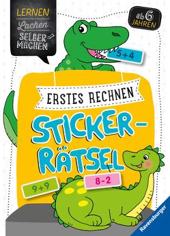 Erstes Rechnen Sticker-Rätsel von Jebautzke,  Kirstin, Penner,  Angelika