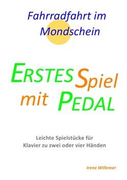 Erstes Spiel mit Pedal / Fahrradfahrt im Mondschein von Willemer,  Irene