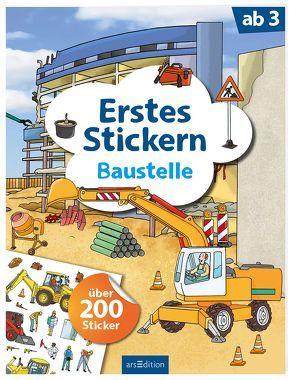 Erstes Stickern Baustelle von Coenen,  Sebastian