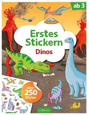 Erstes Stickern Dinos von Coenen,  Sebastian