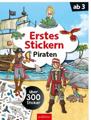 Erstes Stickern Piraten von Coenen,  Sebastian