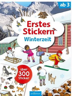 Erstes Stickern Winterzeit von Coenen,  Sebastian