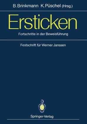Ersticken von Brinkmann,  Bernd, Püschel,  Klaus