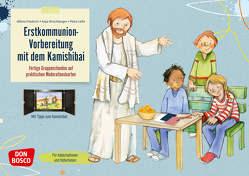 Erstkommunion-Vorbereitung mit dem Kamishibai von Friedrich SDB,  Alfons, Hirschberger,  Anja, Lefin,  Petra