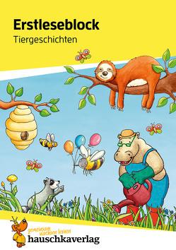 Erstleseblock – Tiergeschichten, A5-Block von Materna,  Carola, Schulte,  Susanne