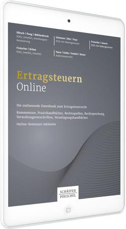 Ertragsteuern Online von Bitz,  Horst, Littmann,  Eberhard, Pust,  Hartmut