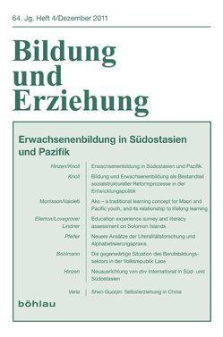 Erwachsenenbildung in Südostasien von Hinzen,  Heribert, Knoll,  Joachim H.
