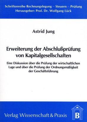 Erweiterung der Abschlussprüfung von Kapitalgesellschaften von Jung,  Astrid