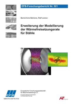 Erweiterung der Modellierung der Wärmefreisetzungsrate für Stähle von Behrens,  Bernd-Arno, Lorenz,  Ralf
