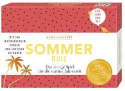 Erzähl mal! Sommerquiz von Heinemann,  Ilka, Kuhlemann,  Matthias, Vliet,  Elma van