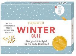 Erzähl mal! Winterquiz von Heinemann,  Ilka, Kuhlemann,  Matthias, Vliet,  Elma van