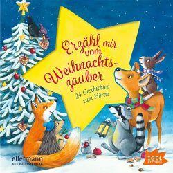Erzähl mir vom Weihnachtszauber. 24 Geschichten zum Hören von Ameling,  Anne, Gawlich,  Cathlen, Michaelis,  Antonia, Ptok,  Friedhelm, Wich,  Henriette