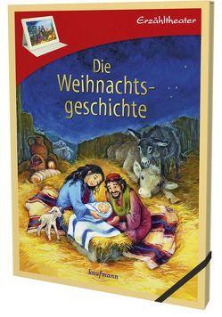 Erzähltheater: Die Weihnachtsgeschichte von Buchmann,  Lena, Krautmann,  Milada