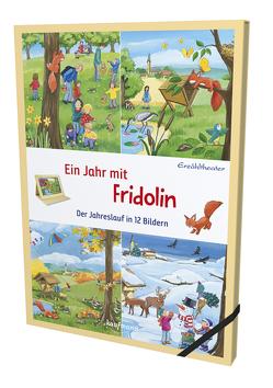 Erzähltheater: Ein Jahr mit Fridolin von Ebbert,  Birgit, Flad,  Antje