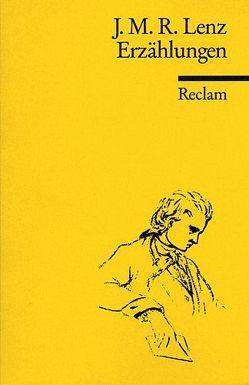 Erzählungen: Zerbin. Der Waldbruder. Der Landprediger von Lenz,  Jakob M, Voit,  Friedrich
