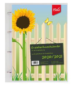 ErzieherInnenkalender für Gruppenplanung 2020/2021, A4, inkl. Ringbuchmappe von Lückert,  Wolfgang