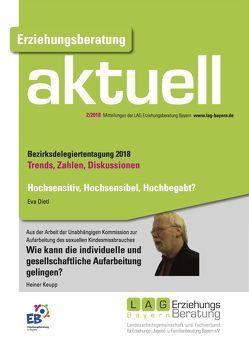 Erziehungsberatung aktuell 2018-2 von Dietl,  Eva, Keupp,  Heiner