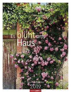 Es blüht ums Haus – Kalender 2019 von Richner,  Werner, Weingarten