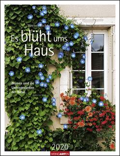Es blüht ums Haus Kalender 2020 von Richner,  Werner, Weingarten
