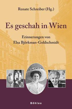 Es geschah in Wien von Fischer,  Margit, Schreiber,  Renate