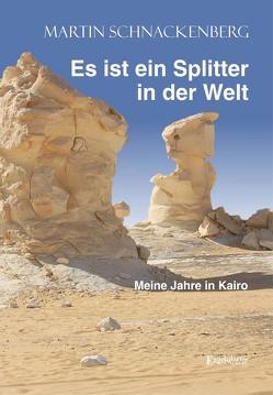 Es ist ein Splitter in der Welt von Schnackenberg,  Martin
