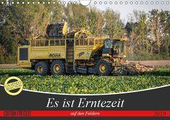 Es ist Erntezeit auf den Feldern (Wandkalender 2019 DIN A4 quer) von SchnelleWelten