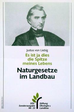 Es ist ja dies die Spitze meines Lebens von Haller,  Wolfgang, Liebig,  Justus von
