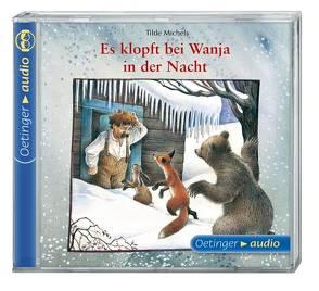 Es klopft bei Wanja in der Nacht (CD) von Illert,  Ursula, Korff,  Hans-Peter, Michels,  Tilde, Michl,  Reinhard, Poppe,  Kay, Schmid,  Eleonore, Steinwart,  Anne, Ziesmer,  Santiago