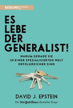 Es lebe der Generalist! von Braun,  Almuth, Epstein,  David
