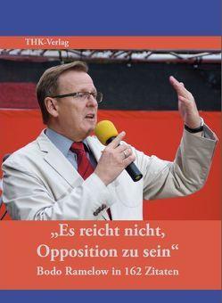 """""""Es reicht nicht, Opposition zu sein"""" von Wogawa,  Stefan"""