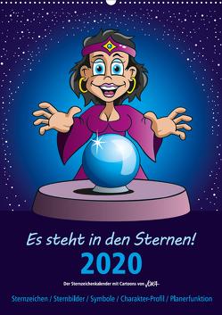 Es steht in den Sternen! (Wandkalender 2020 DIN A2 hoch) von jokatoons
