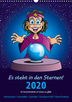 Es steht in den Sternen! (Wandkalender 2020 DIN A3 hoch) von jokatoons