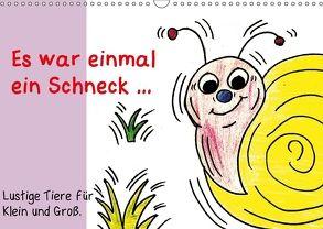 Es war einmal ein Schneck… (Wandkalender 2018 DIN A3 quer) von Grimm,  Birgitta