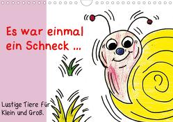 Es war einmal ein Schneck… (Wandkalender 2020 DIN A4 quer) von Grimm,  Birgitta