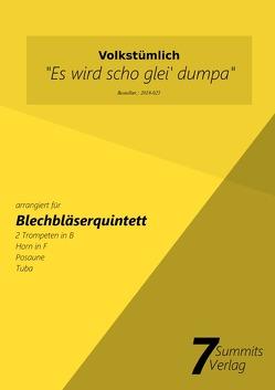 """""""Es wird scho glei dumpa"""" – arr. Christian Fath von Fath,  Christian"""