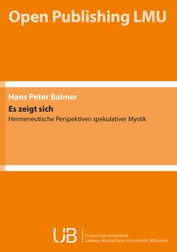 Es zeigt sich von Balmer,  Hans-Peter