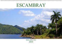 ESCAMBRAY – Kubas grünes Herz (Wandkalender 2019 DIN A2 quer) von von Loewis of Menar,  Henning