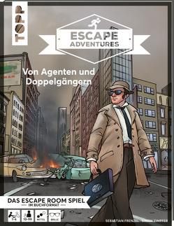 Escape Adventures – Von Agenten und Doppelgängern von Frenzel,  Sebastian, Gehrmann,  Kristina, Sgoda,  Sabrina, Zimpfer,  Simon