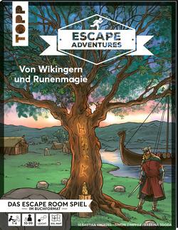 Escape Adventures – Von Wikingern und Runenmagie von Frenzel,  Sebastian, Gehrmann,  Kristina, Zimpfer,  Simon