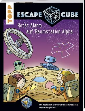 Escape Cube Kids Roter Alarm auf Raumstation Alpha von Pautner,  Norbert