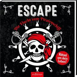 Escape – Die Flucht vom Piratenschiff von Briquet,  Margot, Nieudan,  Eric