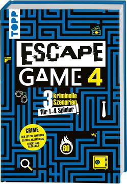 Escape Game 4 CRIME von Prieur,  Rémi, Strobbe,  Rémy, Vives,  Mélanie