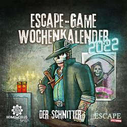 Escape-Game-Kalender 2022: Der Schnitter von Krömer,  Philip, Wehr,  Daniel