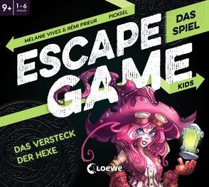 Escape Game Kids – Das Spiel – Das Versteck der Hexe von Fiedler-Tresp,  Sonja, Gunto,  El, Prieur,  Rémi, Vives,  Mélanie