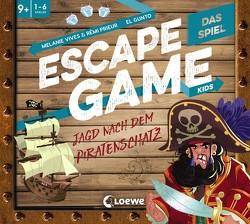 Escape Game Kids – Das Spiel – Jagd nach dem Piratenschatz von Fiedler-Tresp,  Sonja, Gunto,  El, Prieur,  Rémi, Vives,  Mélanie
