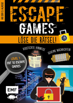 Escape Games Level 1 (orange) – Löse die Rätsel! – 10 Escape Games ab der 3. Klasse