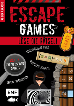 Escape Games Level 1 (rot) – Löse die Rätsel! – 10 Escape Games ab der 4. Klasse von Mattiesch,  Gesa, Quénée,  Mathieu