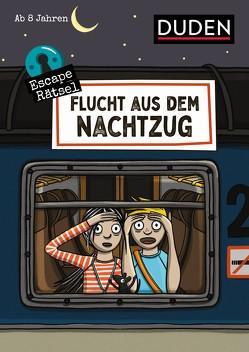 Escape-Rätsel – Flucht aus dem Nachtzug von Eck,  Janine, Rogler,  Ulrike