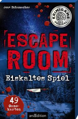 Escape Room – Tod auf Raten. Ein Escape-Krimi-Spiel von Schumacher,  Jens, Winkler,  Steffen