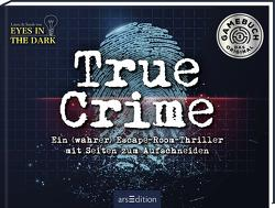 True Crime. Ein (wahrer) Escape-Room-Thriller zum Aufschneiden von Fischer,  Sarah, Regenauer,  Laura